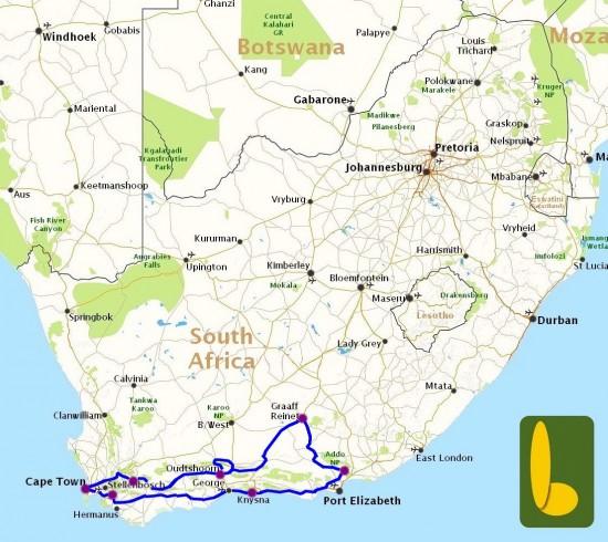 Rondreis R 9 Van Kaapstad Naar Addo
